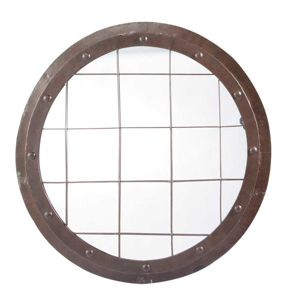 Miroir rond grand format mobilier design sur miroir for Miroir rond grande taille