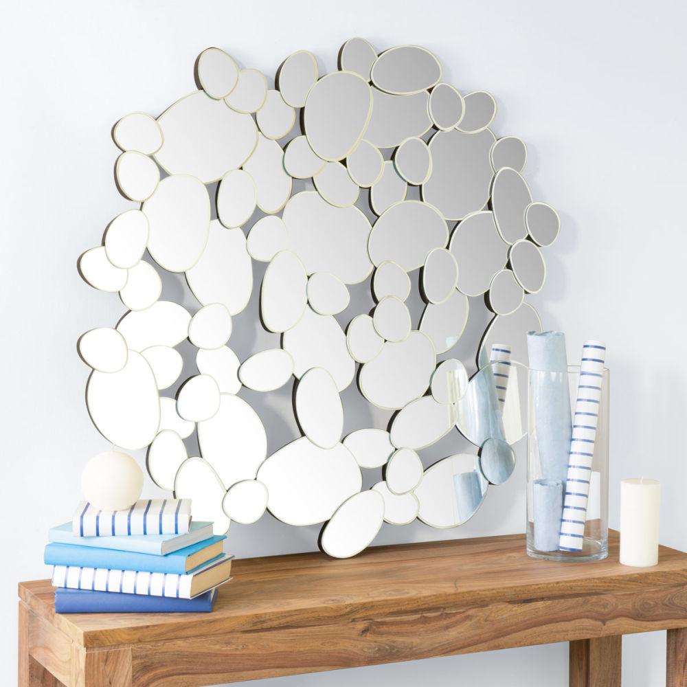 Miroir galets 96x100 cm maisons du monde - Grand magasin maison du monde ...