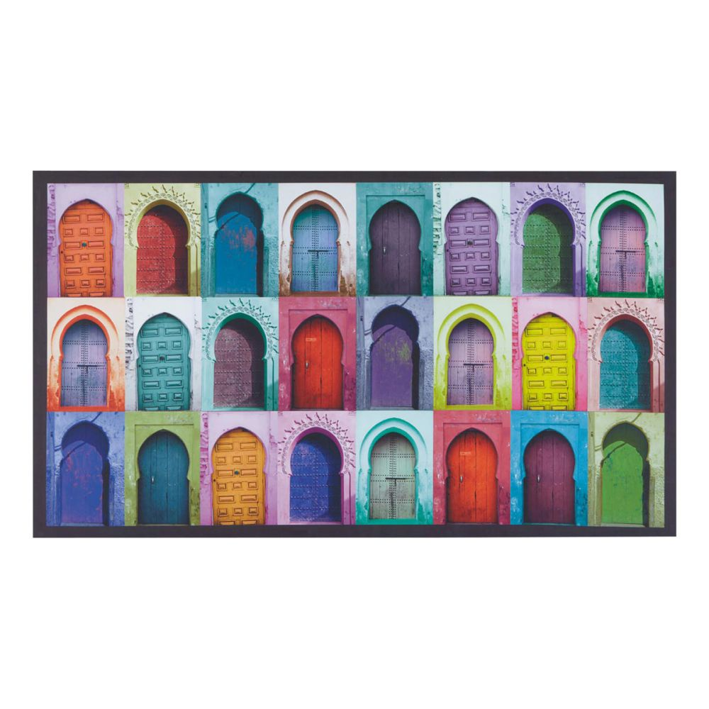 Toile multicolore 80 x 140 cm bahia maisons du monde for Maison du monde tableaux