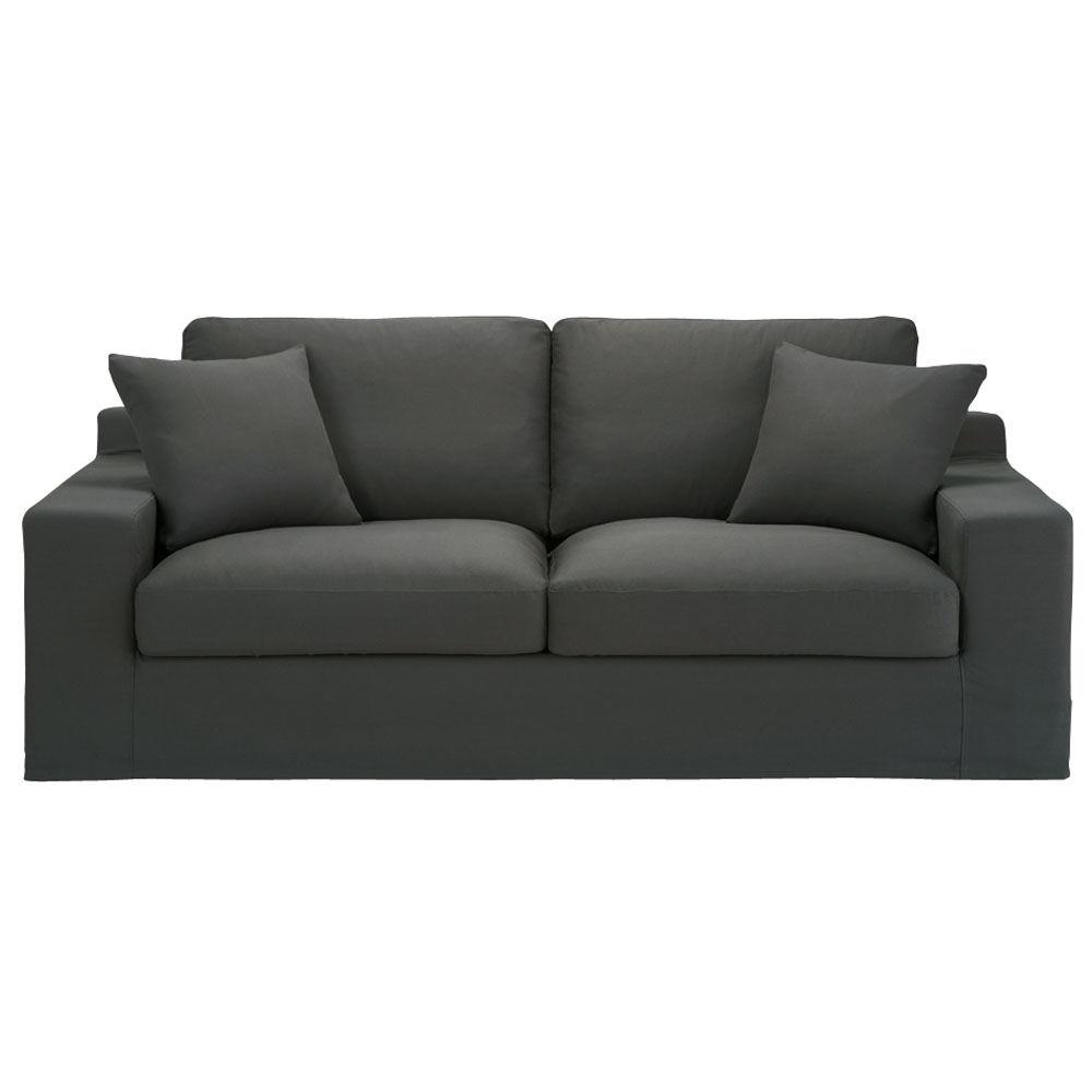 canape convertible gris maison design. Black Bedroom Furniture Sets. Home Design Ideas