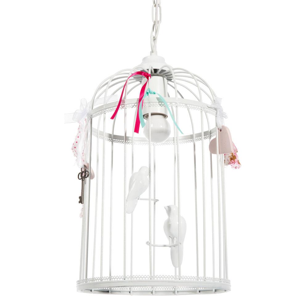suspension lectrifi e cage oiseaux maisons du monde. Black Bedroom Furniture Sets. Home Design Ideas