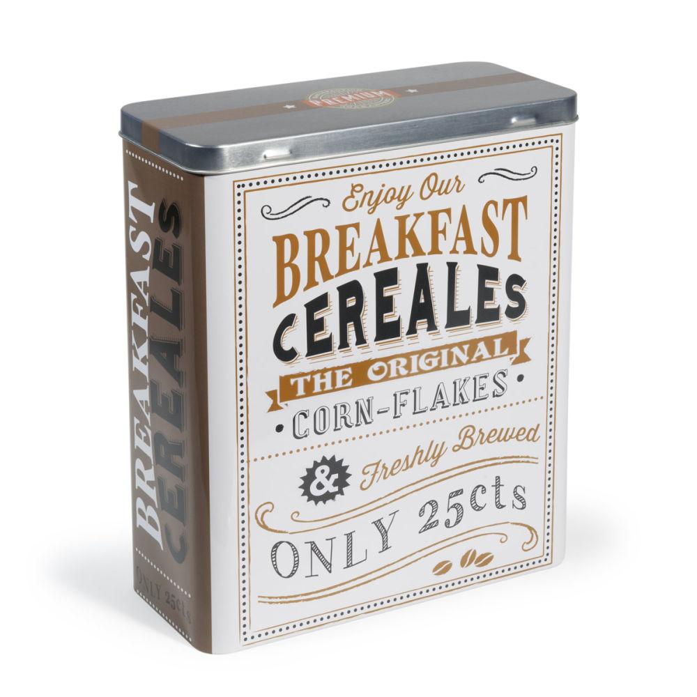 Bo te c r ales marron h 27 cm breakfast maisons du monde for Boite a chapeau maison du monde
