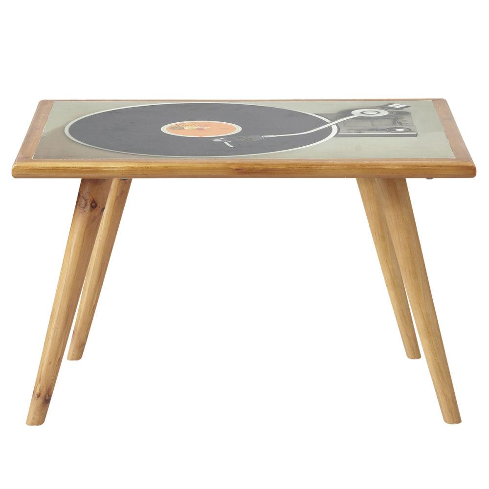 table basse vintage fifty 39 s maisons du monde. Black Bedroom Furniture Sets. Home Design Ideas