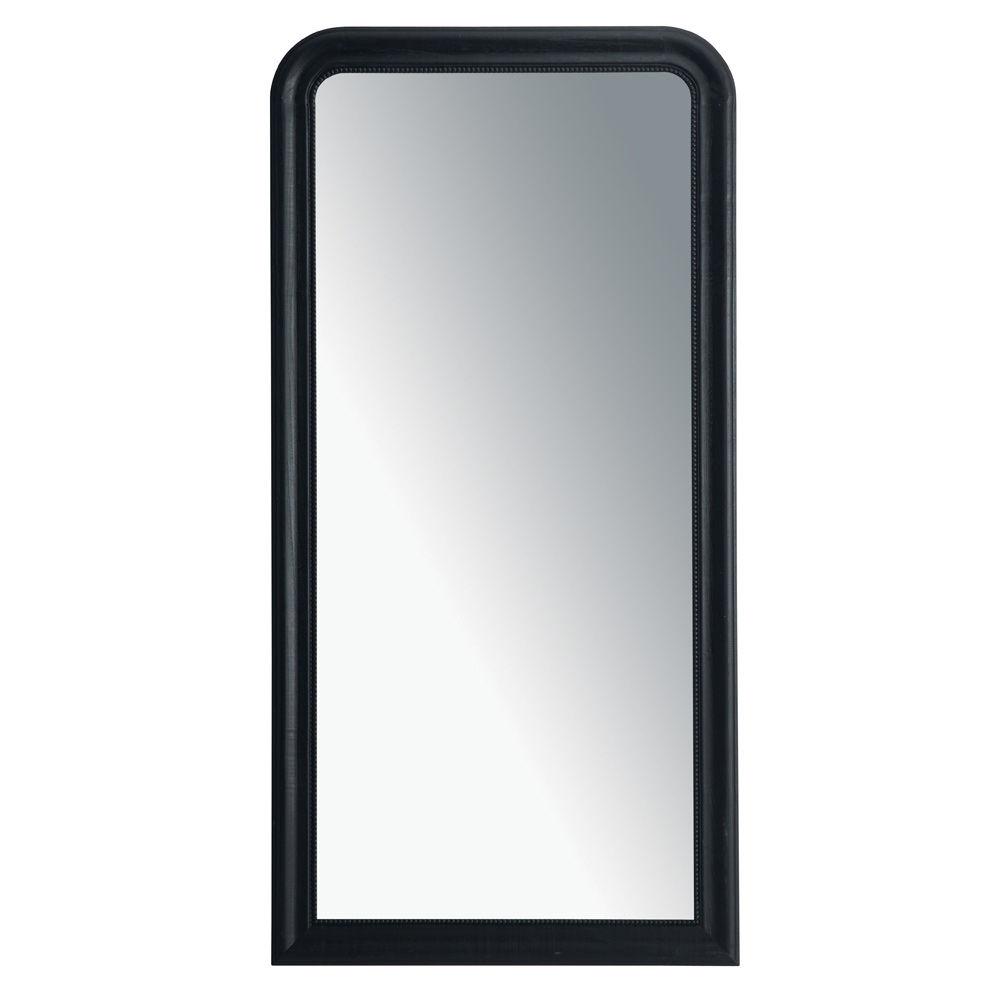 Miroir louis noir 80x160 for The miroir noir