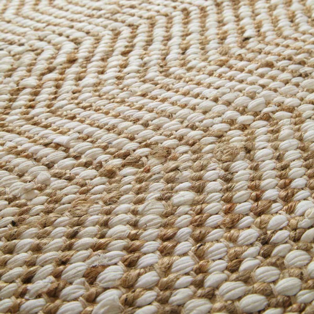 Tapis beige barcelone 140x200 maisons du monde - Tapis roulotte maison du monde ...