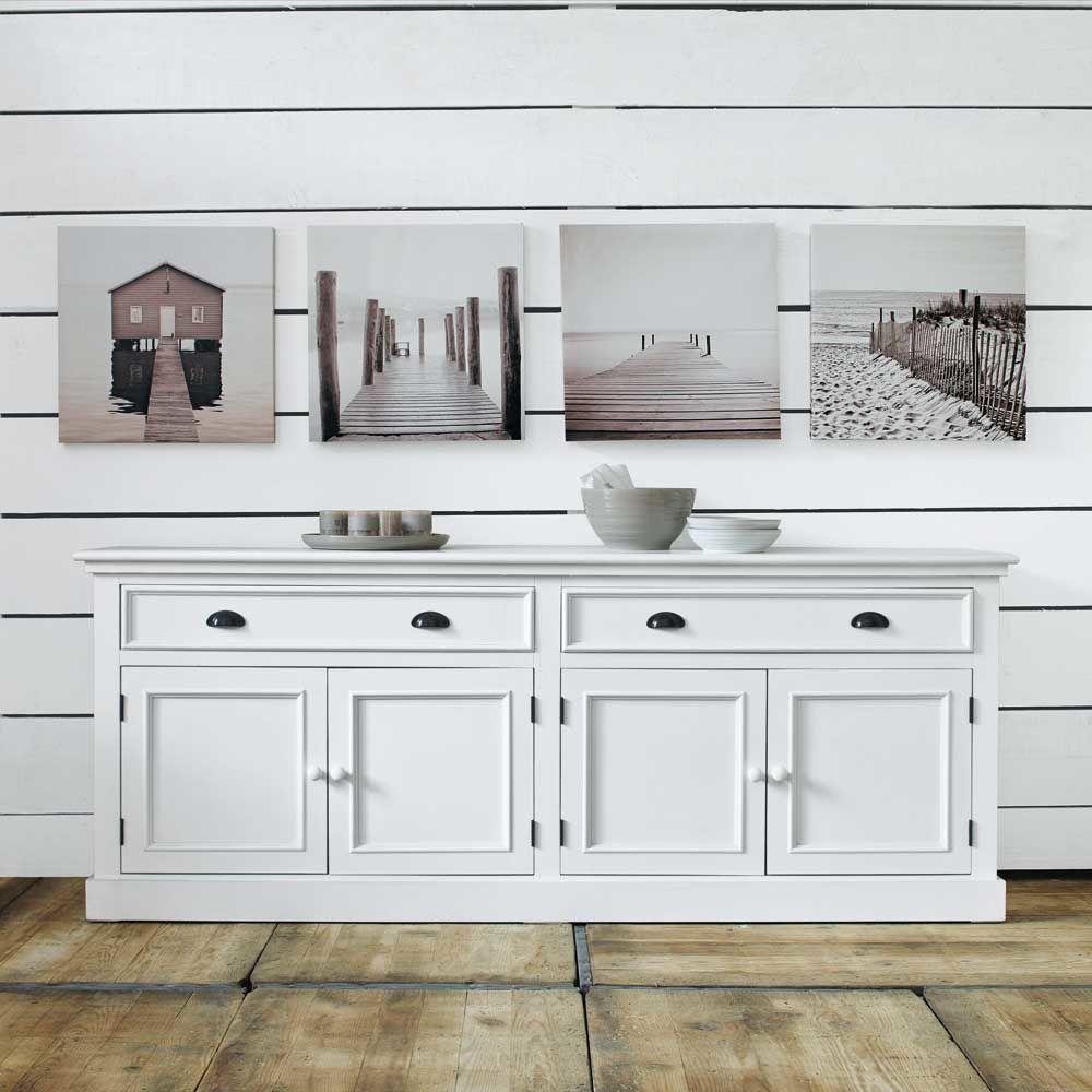 buffet newport maisons du monde. Black Bedroom Furniture Sets. Home Design Ideas