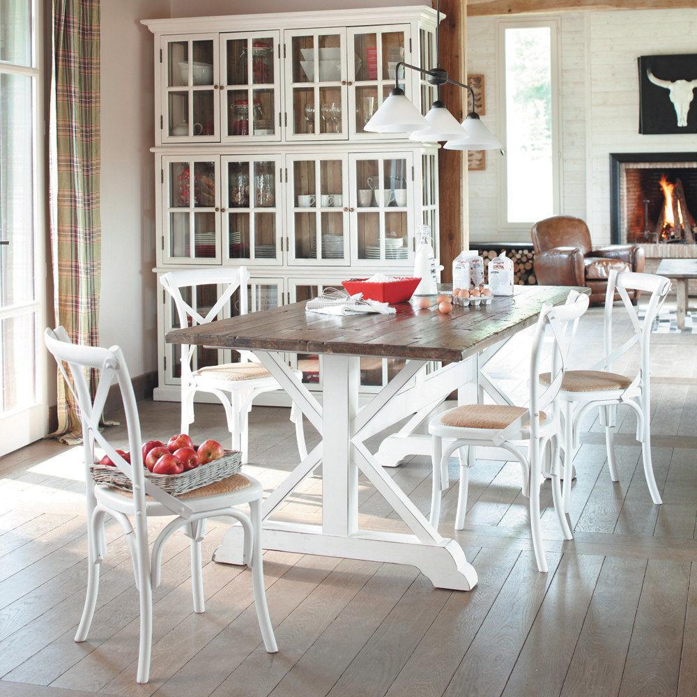 Mesa y sillas para cocina rustica decorar tu casa es - Mesas de cocina y sillas ...