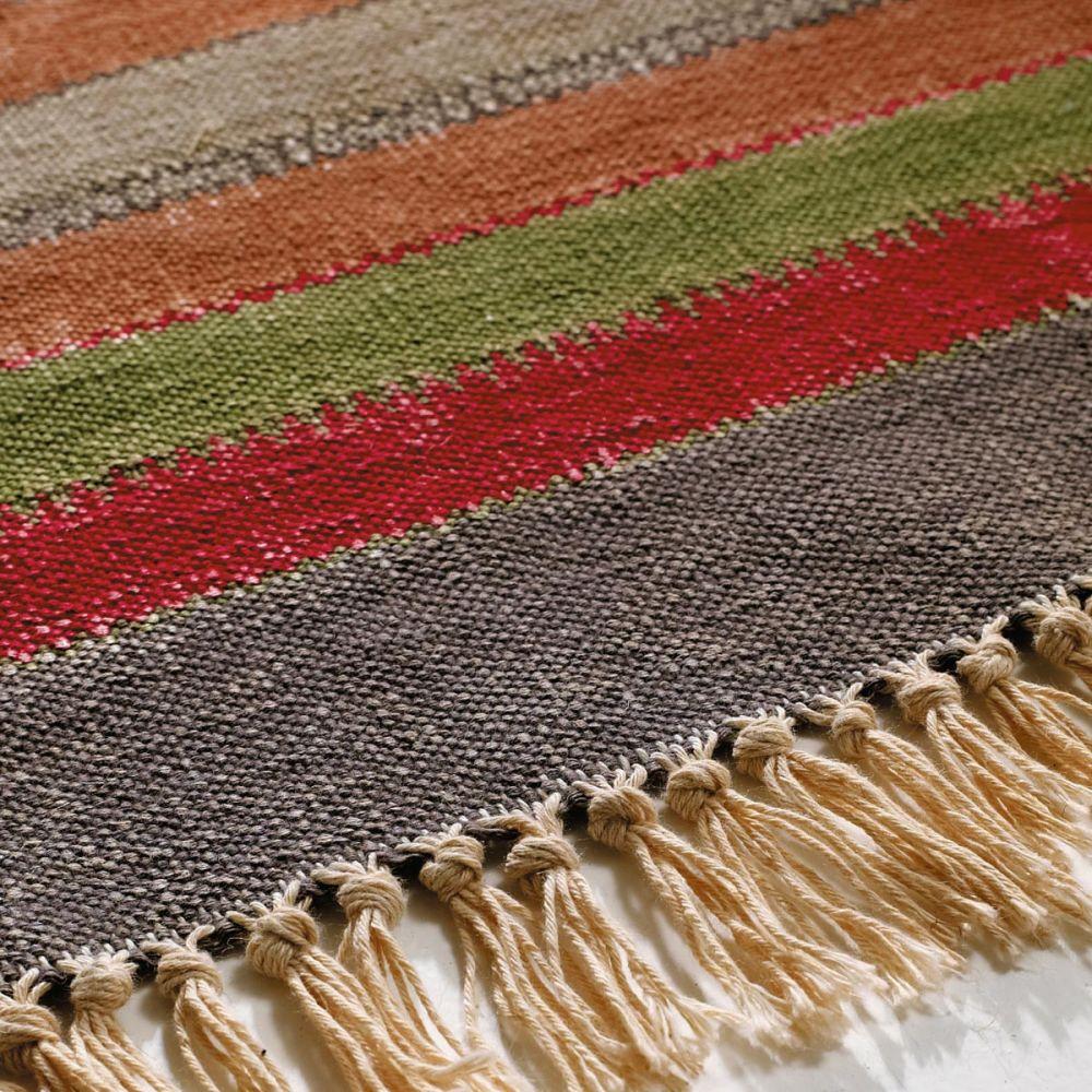 Teppich bunt gestreift Agadir 200×140  Maisons du Monde