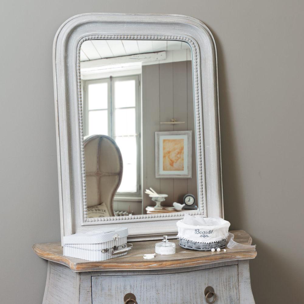 Miroir contemporain maison du monde for Maison du monde miroir