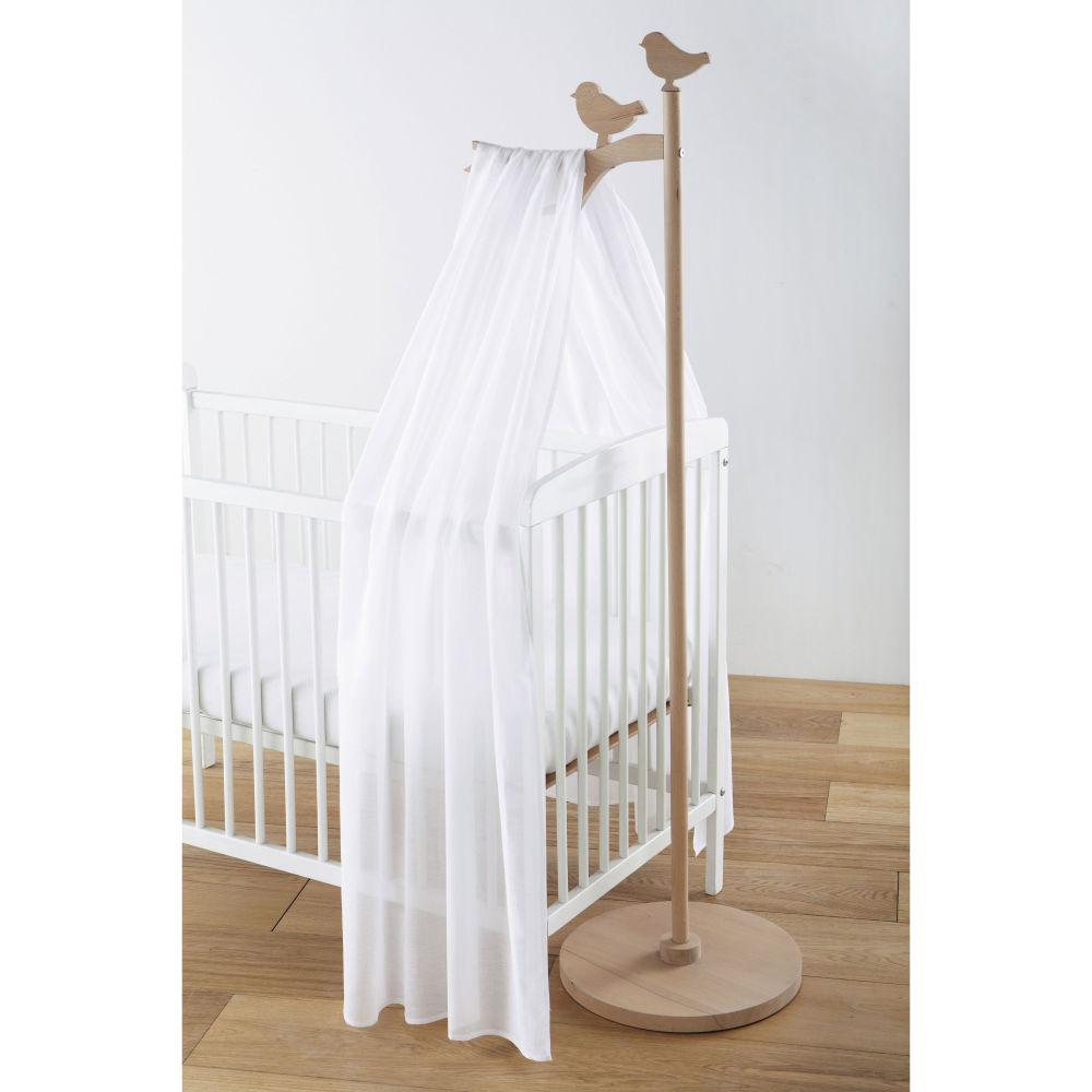 Ciel de lit enfant en bois L 40 cm Lapinou