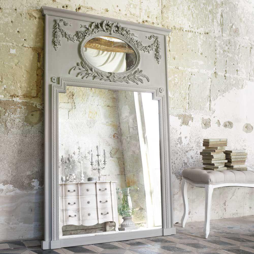 Miroir Bois Maison Du Monde : Accueil ? D?coration ? Miroirs ? Miroir Mirano gris
