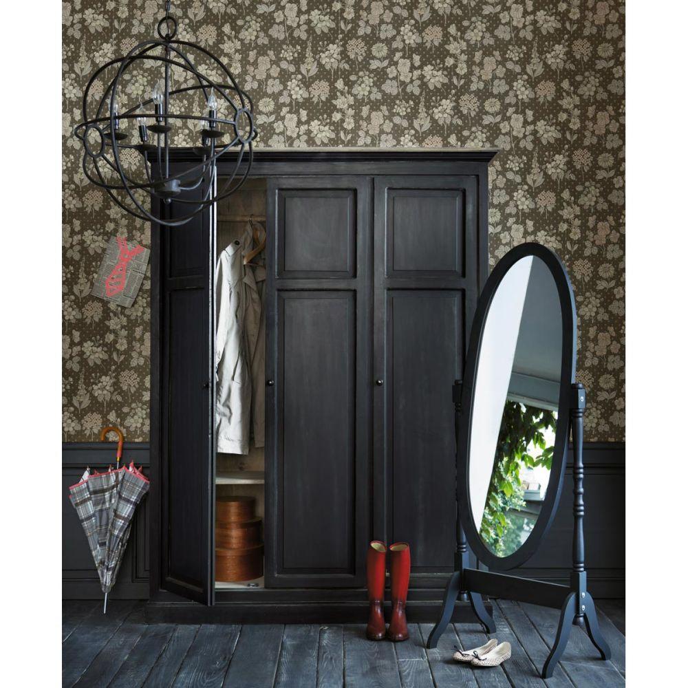 Zwarte clarence staande spiegel maisons du monde - Spiegel rivoli huis van de wereld ...