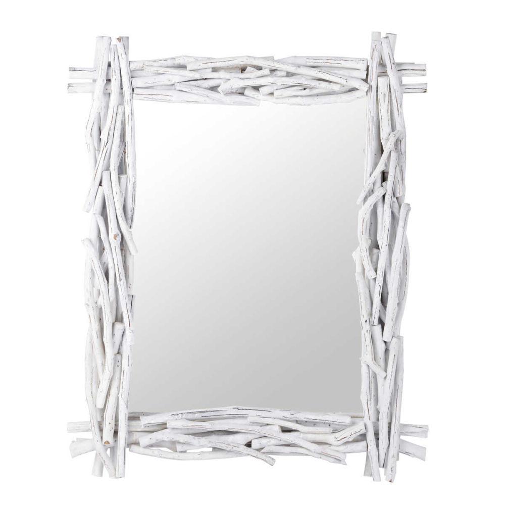Miroir Bois Blanc : Miroir bois blanc Fjord