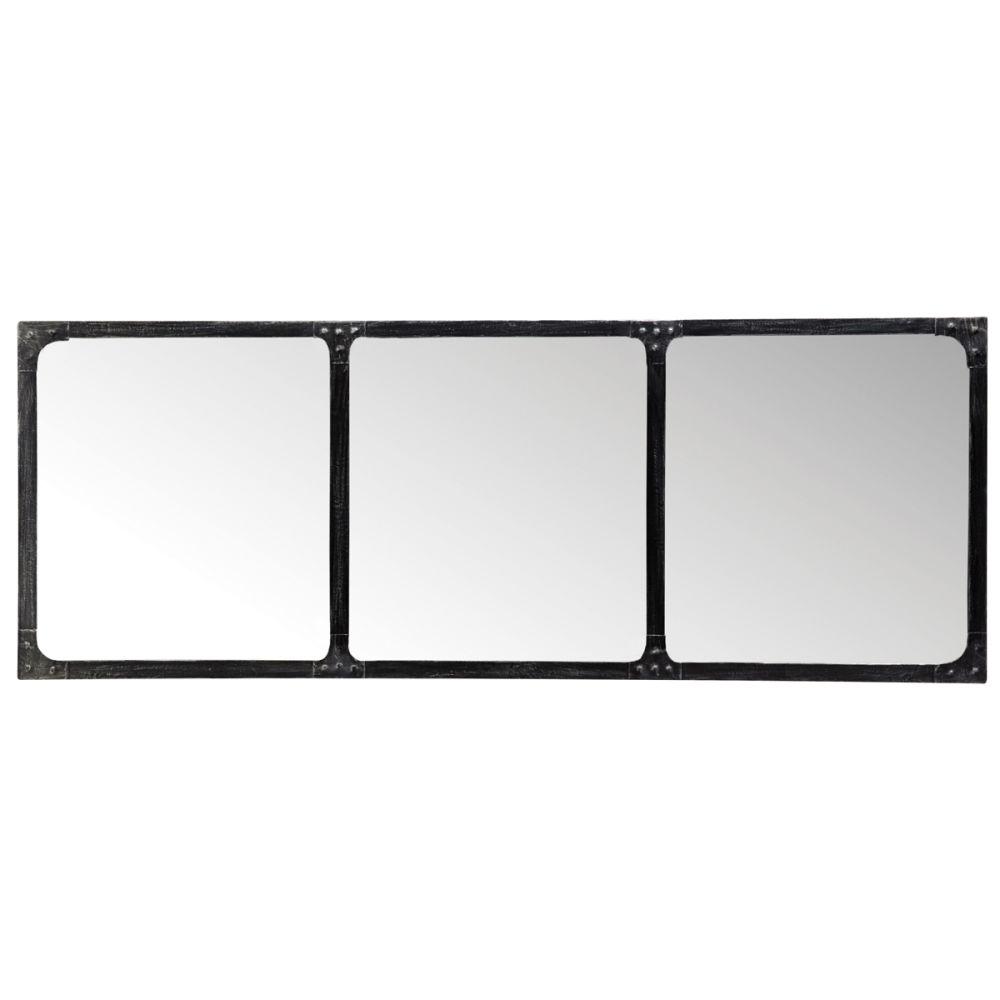 Miroir cargo horizontal maisons du monde for Miroir horizontal