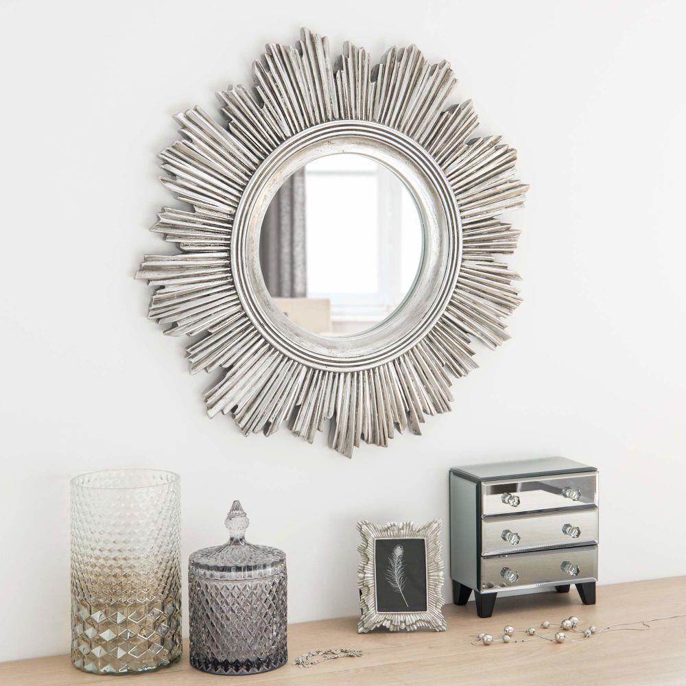 Bonbonnière en verre teinté gris   Maisons du Monde