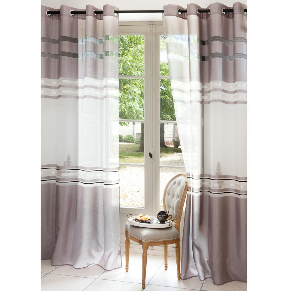 maisons du monde rideaux fashion designs. Black Bedroom Furniture Sets. Home Design Ideas