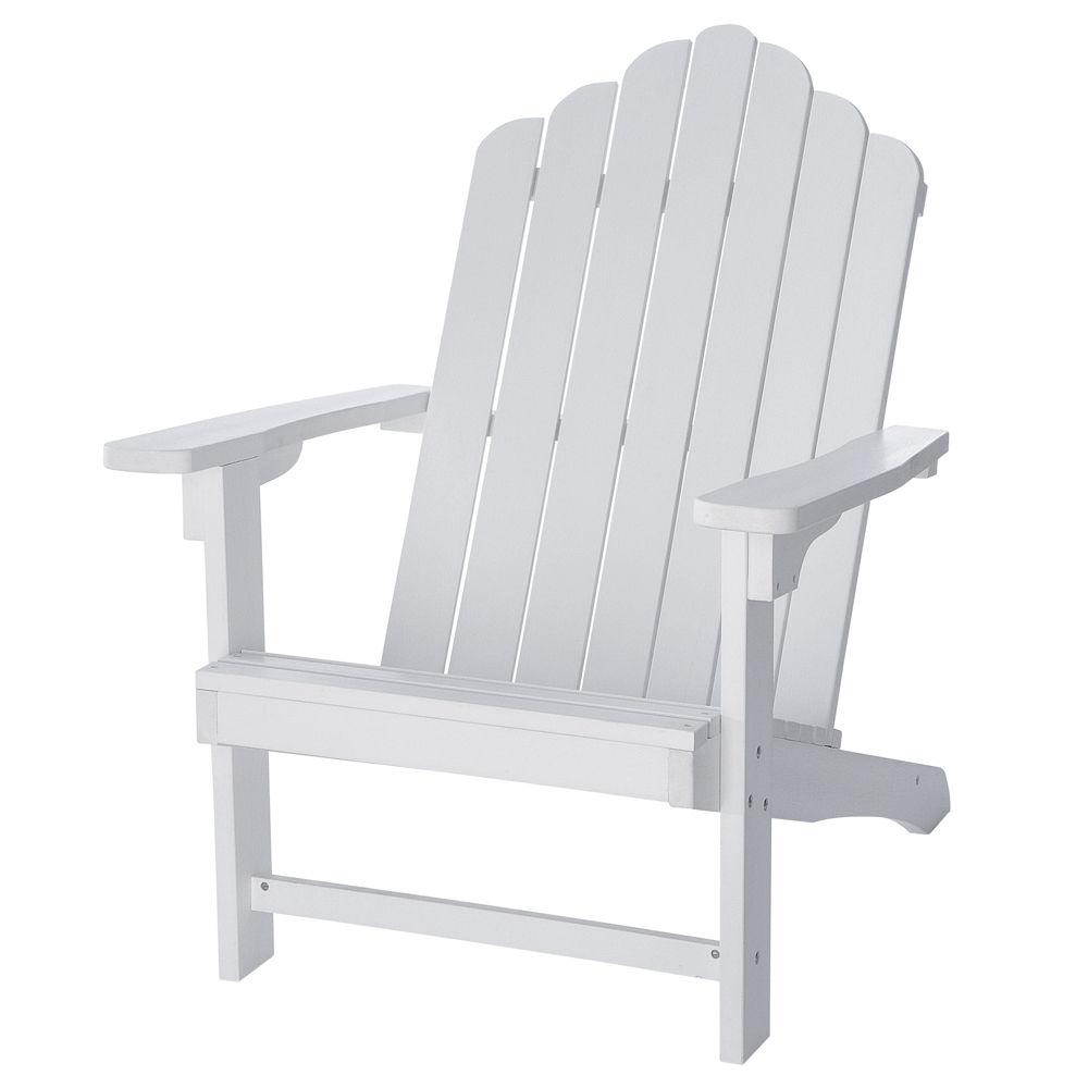 fauteuil de jardin blanc portland maisons du monde. Black Bedroom Furniture Sets. Home Design Ideas