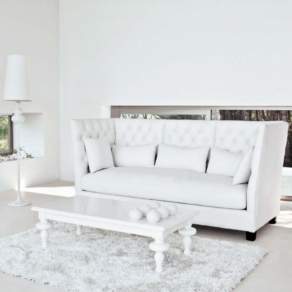table basse blanche barocco maisons du monde. Black Bedroom Furniture Sets. Home Design Ideas