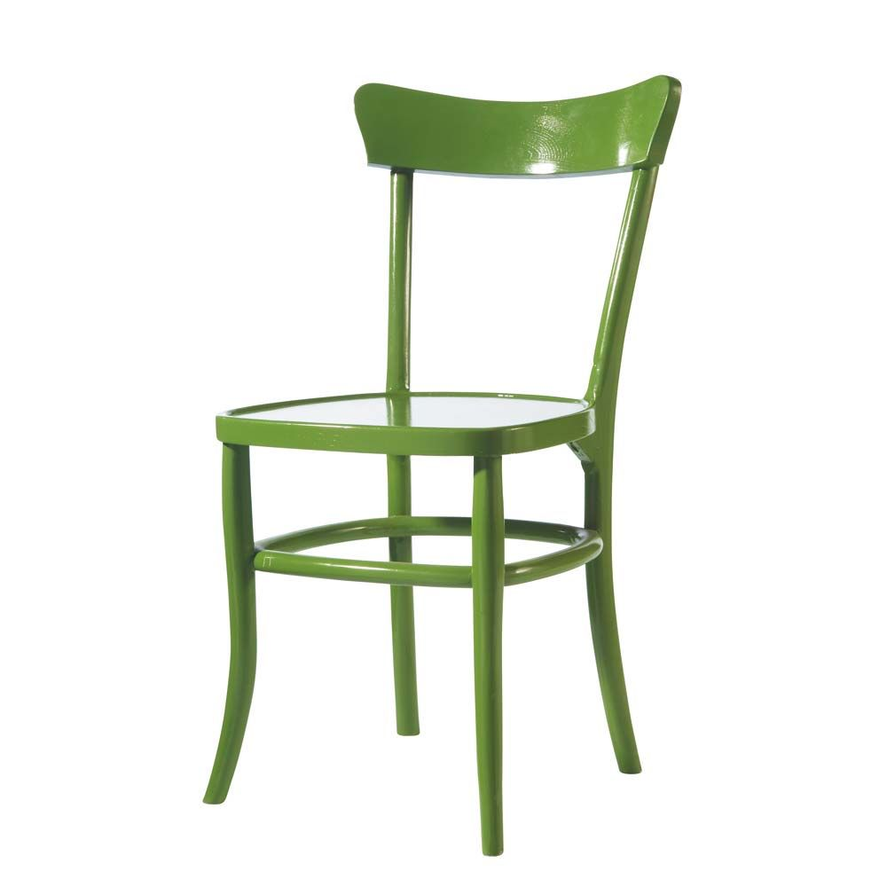 Chaise verte bistrot maisons du monde for Chaise bistrot