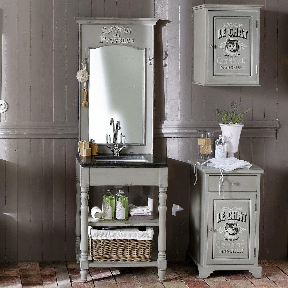 cabinet bas salle de bain le chat maisons du monde