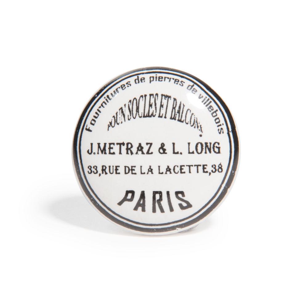 Bouton de porte paris r tro maisons du monde for Bouton de porte original