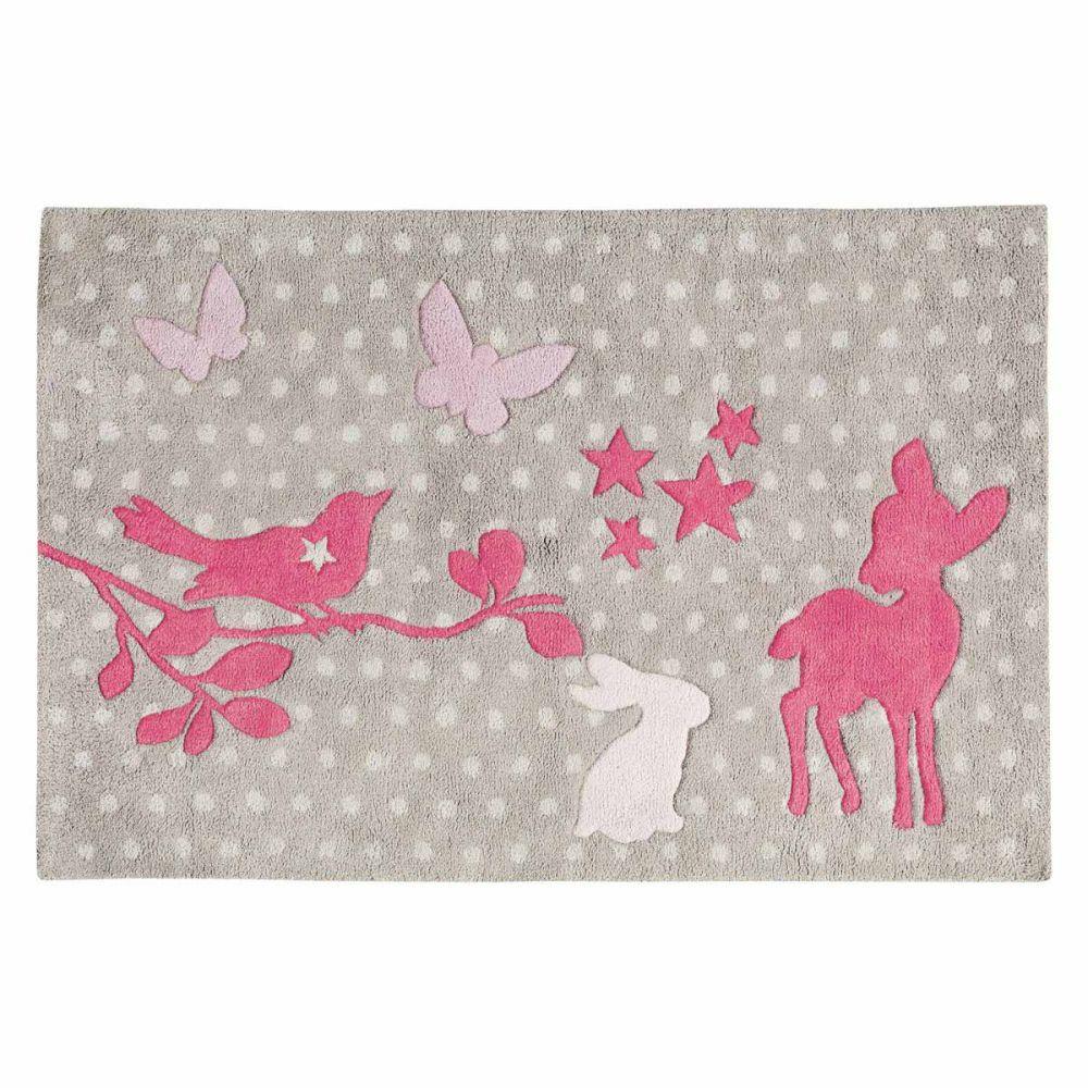 Bambi tapijt maisons du monde - Tapis zebre maison du monde ...