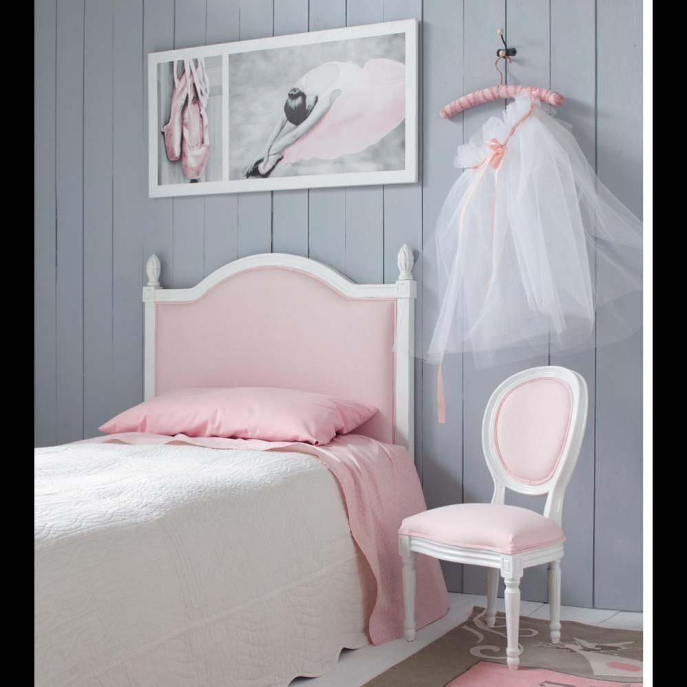 Tête de lit enfant rose Louis  Maisons du Monde