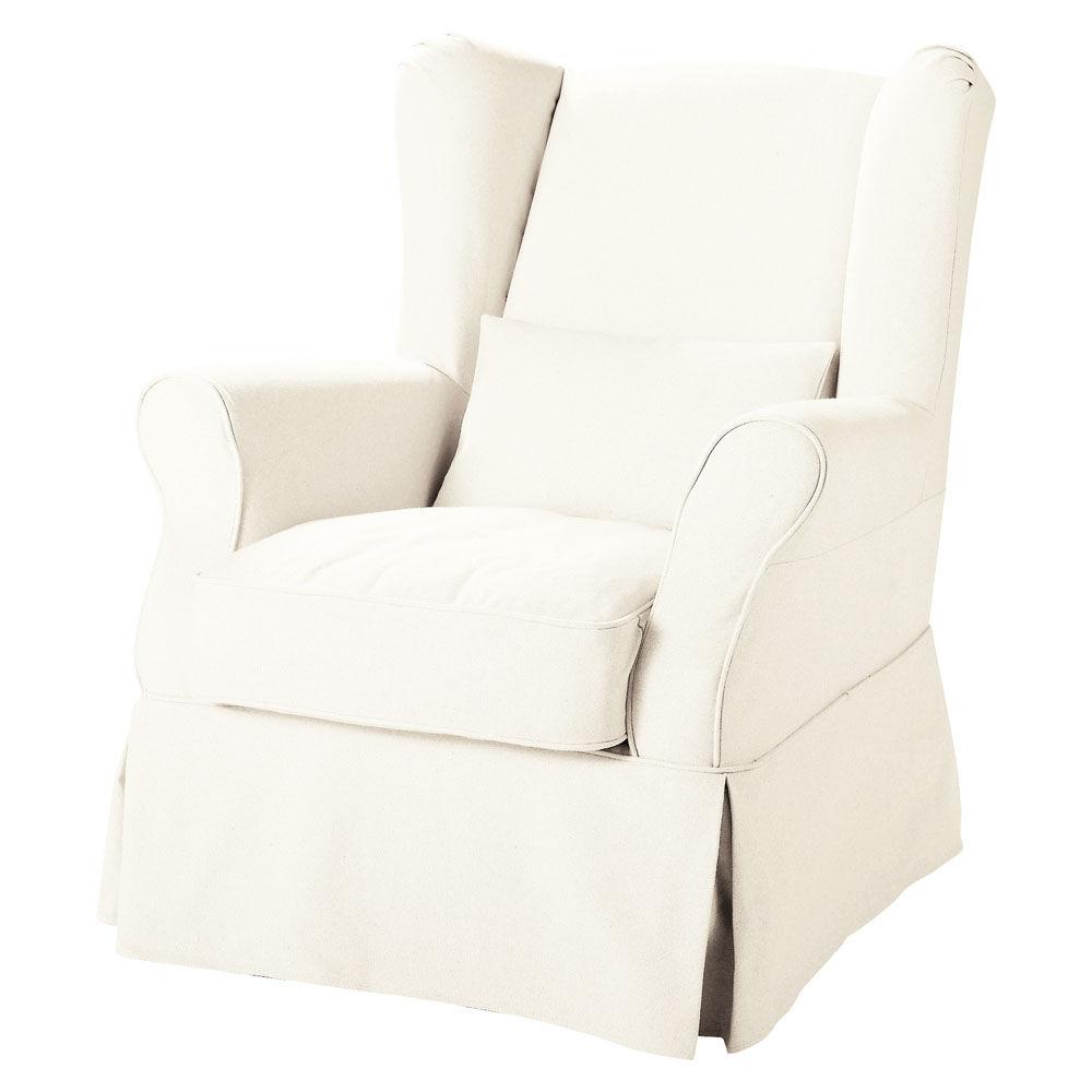 LU fr produits fiche fauteuil a housser en tissu blanc cottage