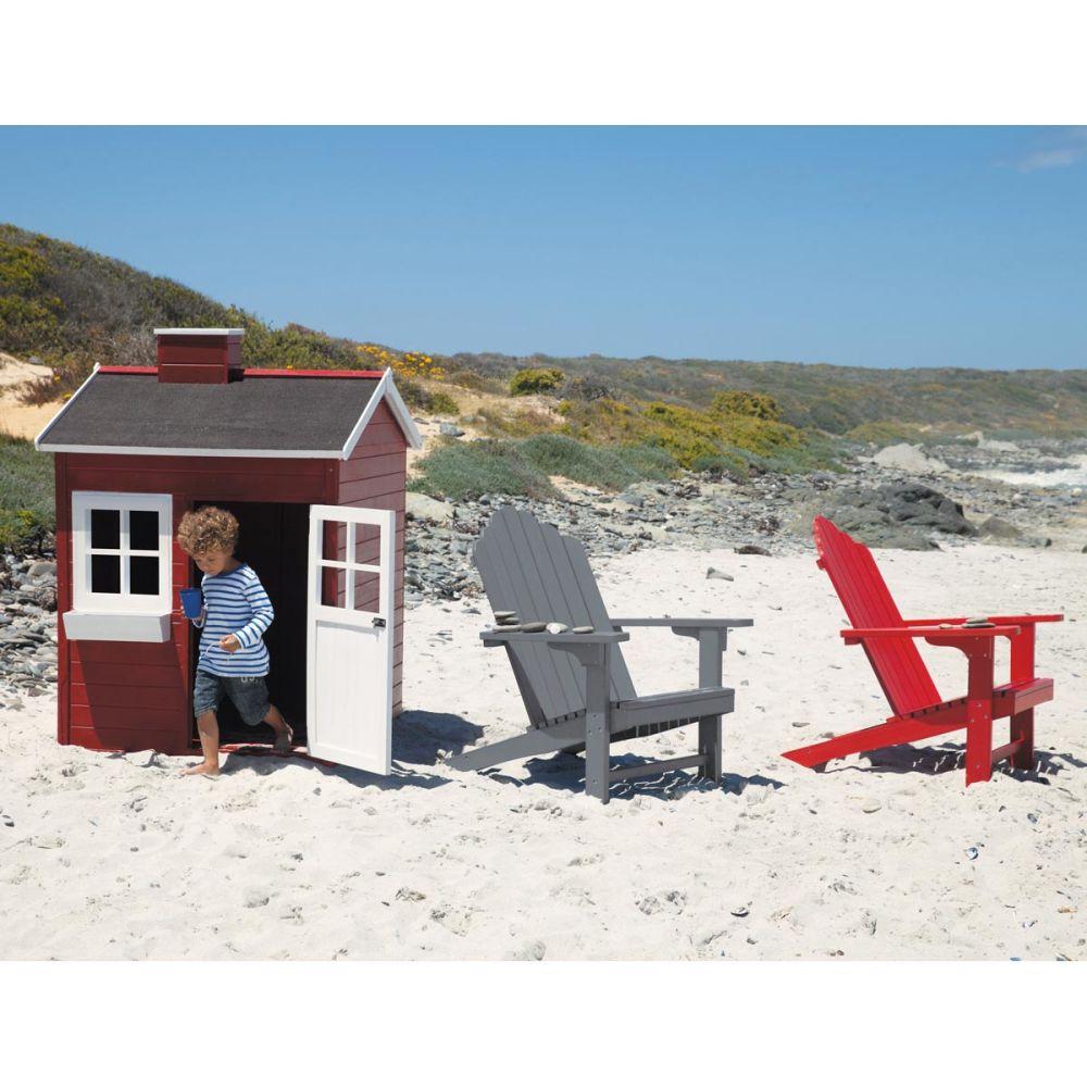 Cabane de jardin enfant rouge Grenadine  Maisons du Monde