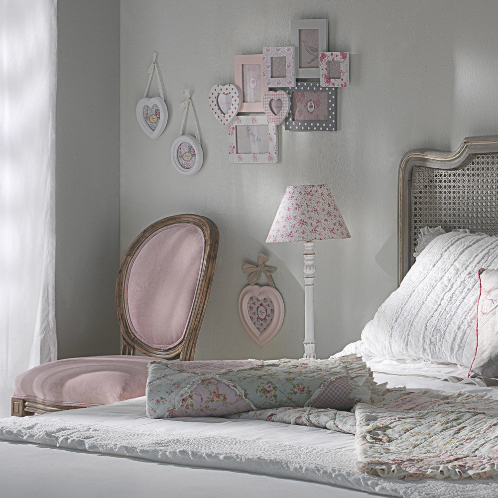 Chambre fille taupe et vieux rose for Chambre taupe et rose