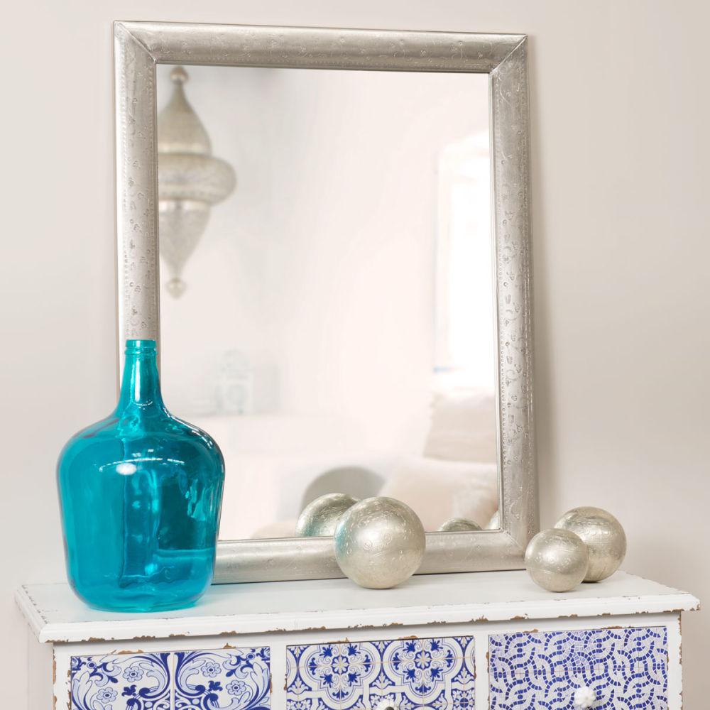 Maisons du monde for Grand miroir metal