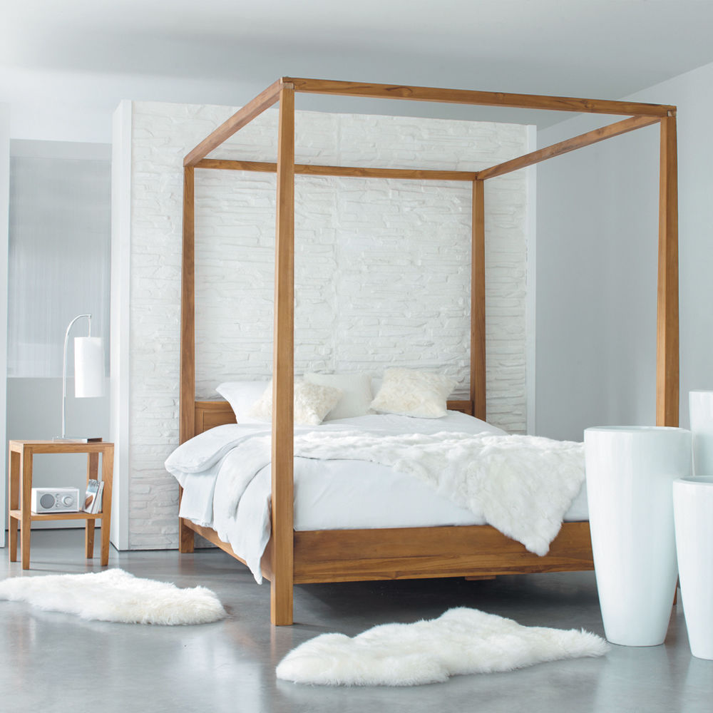hemelbed amsterdam amsterdam maisons du monde. Black Bedroom Furniture Sets. Home Design Ideas