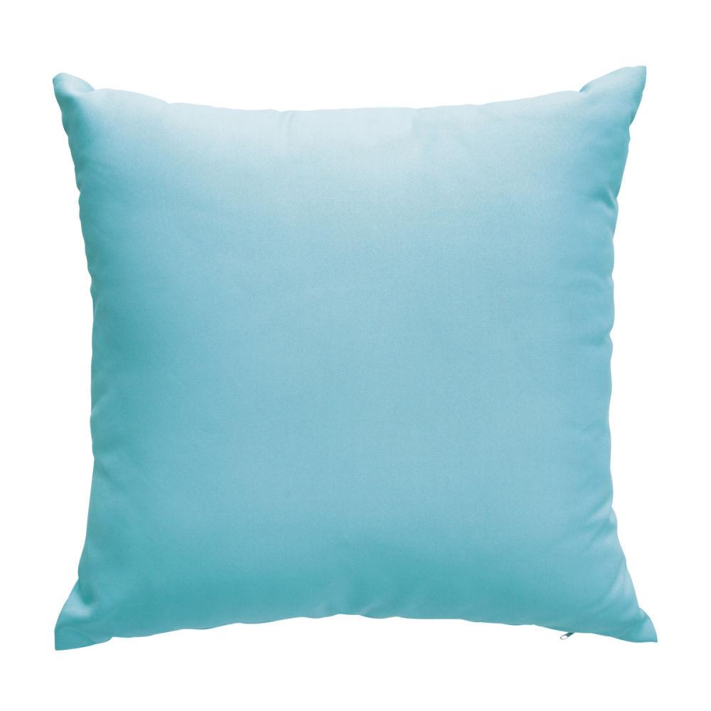 2 coussins bleus 50x50 sunny maisons du monde for Coussin exterieur 50x50