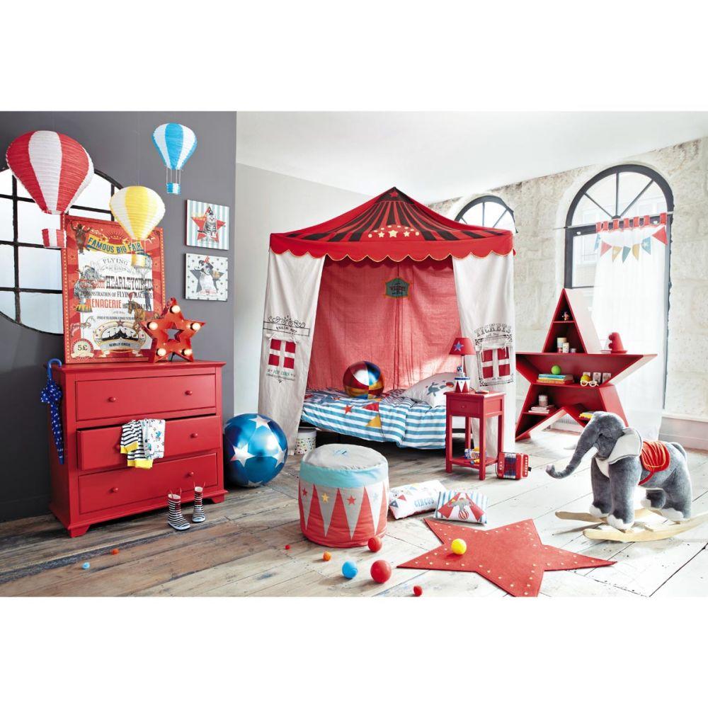 parure housse de couette enfant circus 140x200 maisons. Black Bedroom Furniture Sets. Home Design Ideas