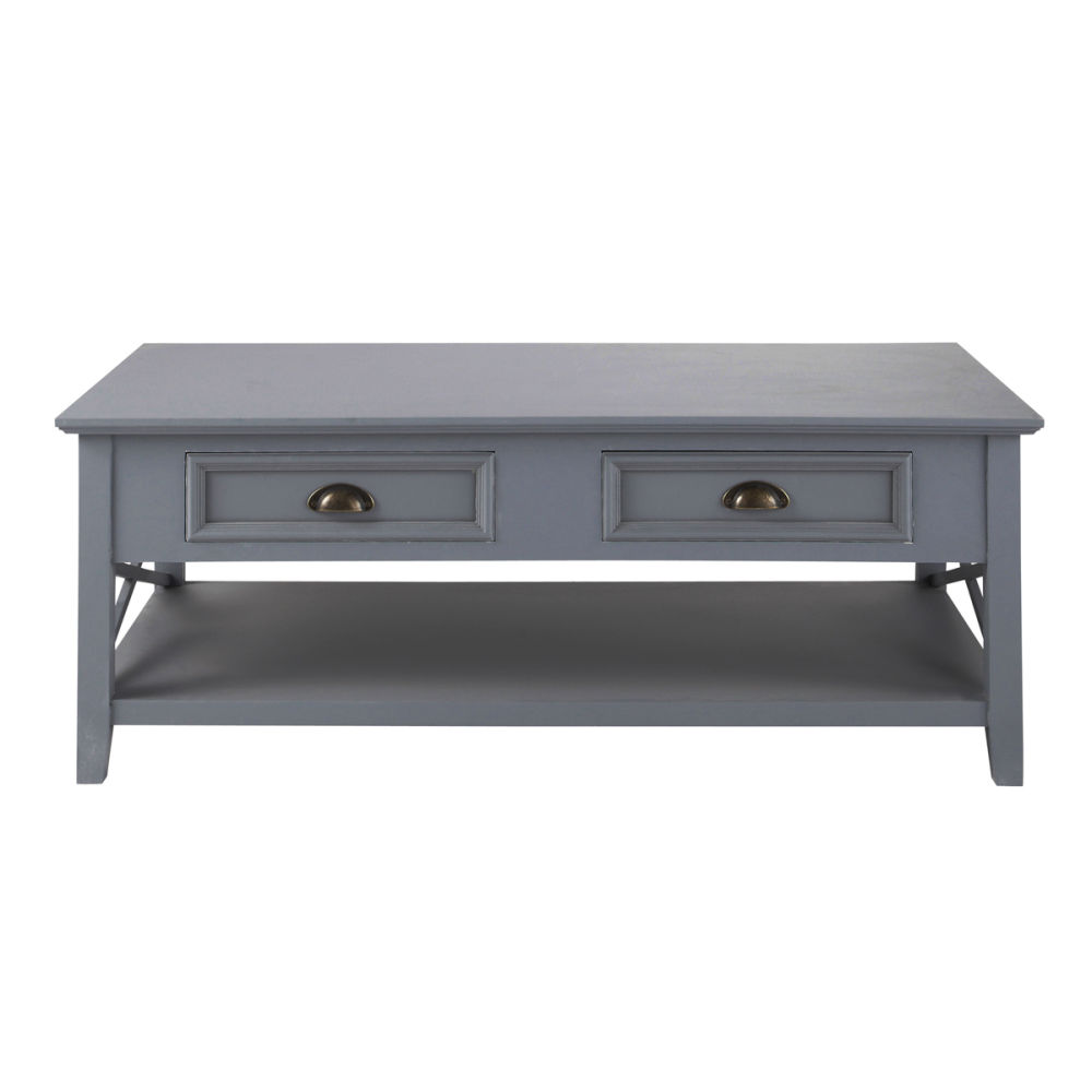 Maisons du monde - Table basse bois gris ...