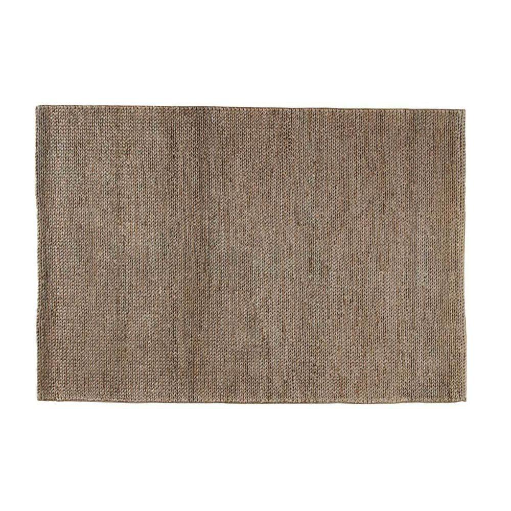 tapis tress en coton beige 140 x 200 cm choti maisons. Black Bedroom Furniture Sets. Home Design Ideas