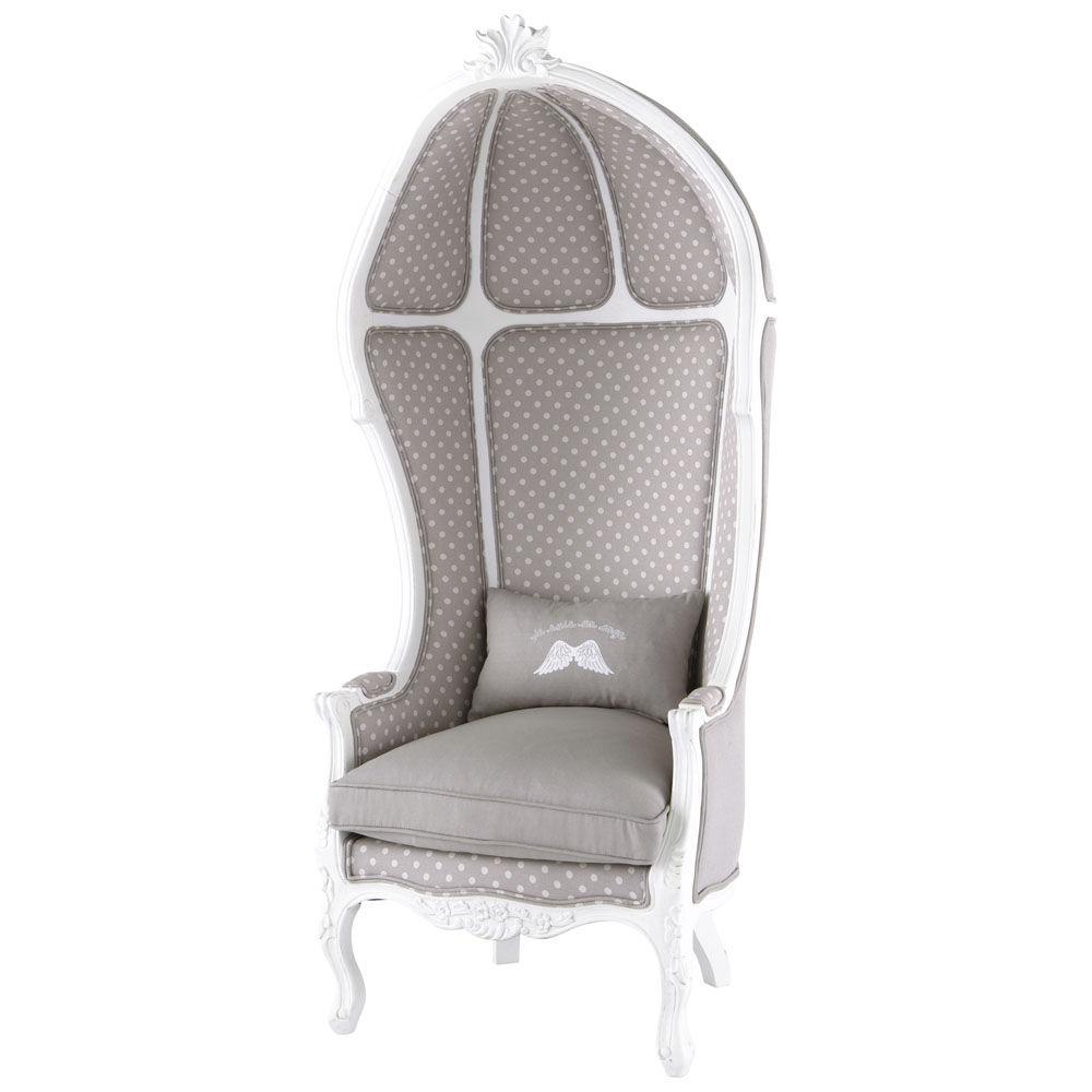 Fauteuil enfant carrosse ange maisons du monde - Maison du monde fauteuil suspendu ...