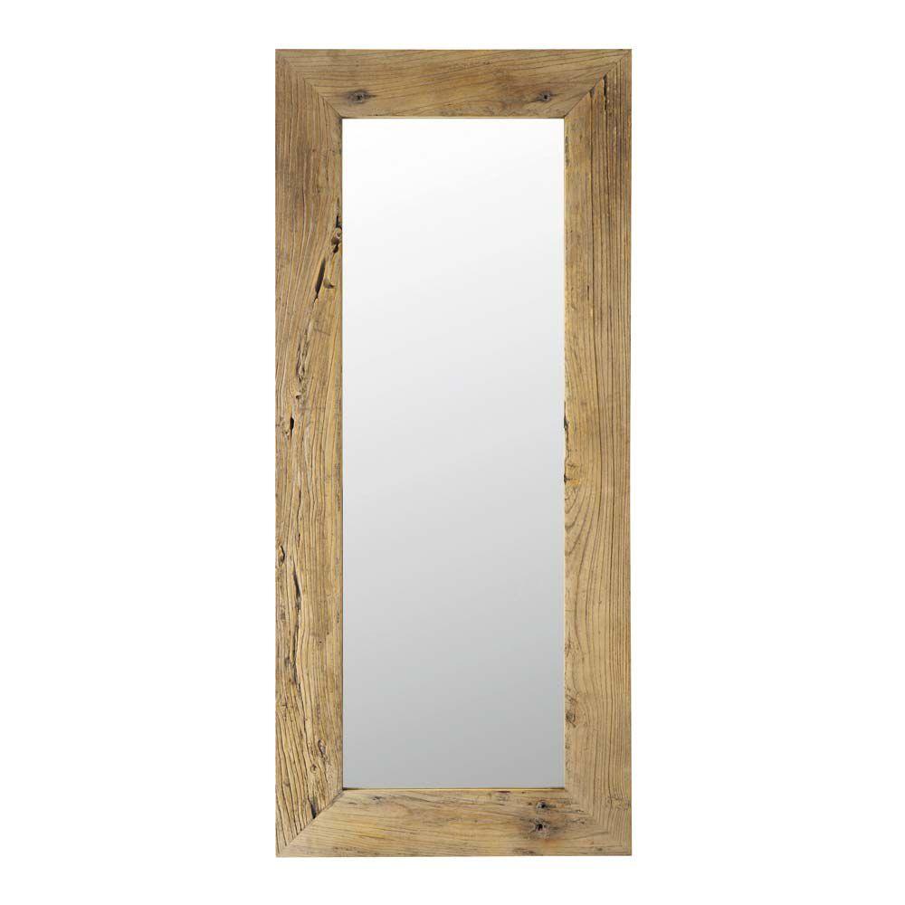 Miroir en orme recycl h 160 cm key west maisons du monde for Maisons du monde miroirs