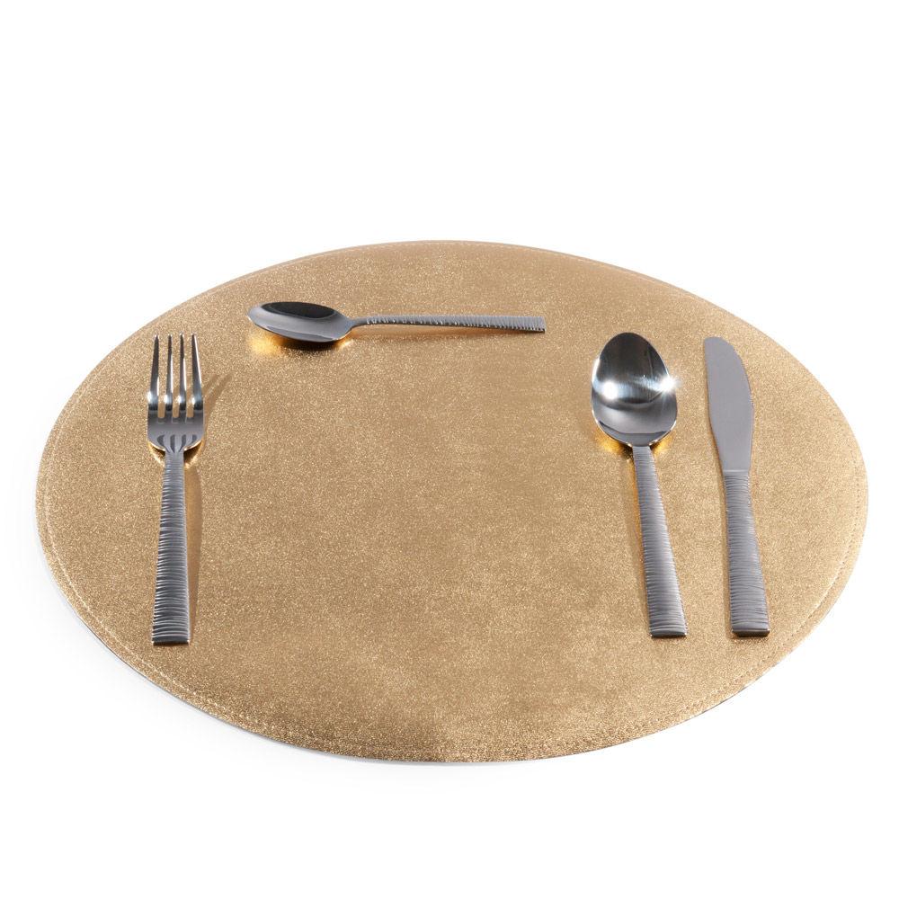 Maisons du monde for Set de table dore