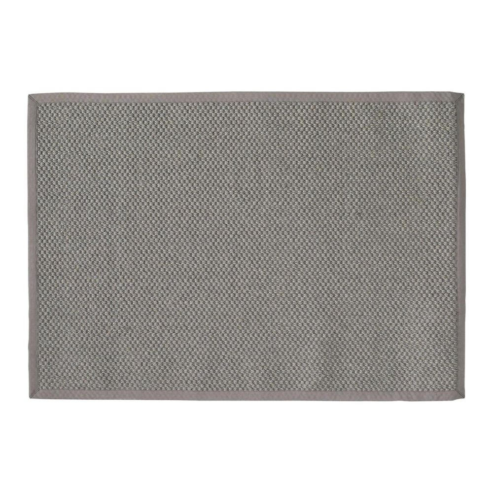tapis tress en sisal gris 140 x 200 cm bastide maisons. Black Bedroom Furniture Sets. Home Design Ideas