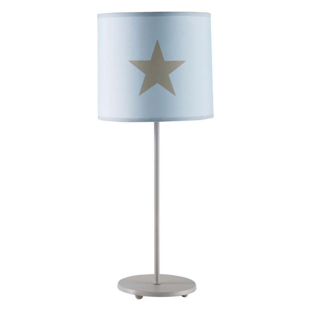 Chambre Rose Et Taupe : Accueil › décoration › Luminaires › Lampe enfant bleu Pastel