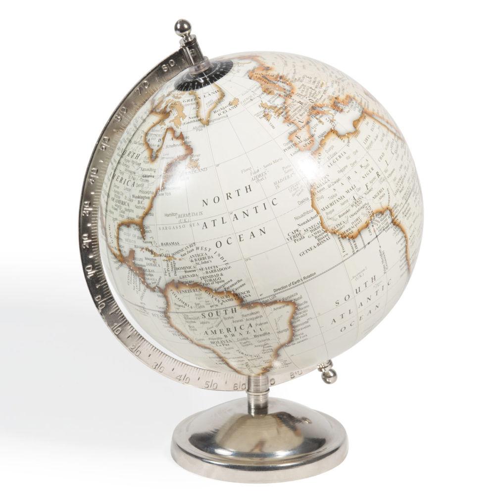 Globe beige h 29 cm cl mence maisons du monde - Globe maison du monde ...