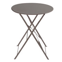 Table taupe Confetti pour 29€