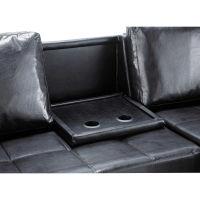 Canapé 3 places convertible blanc Toronto pour 499€