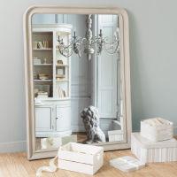 Miroir Elianne arrondi beige 120x90
