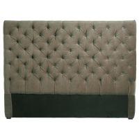 Tête de lit 160 cm taupe Chesterfield pour 229€