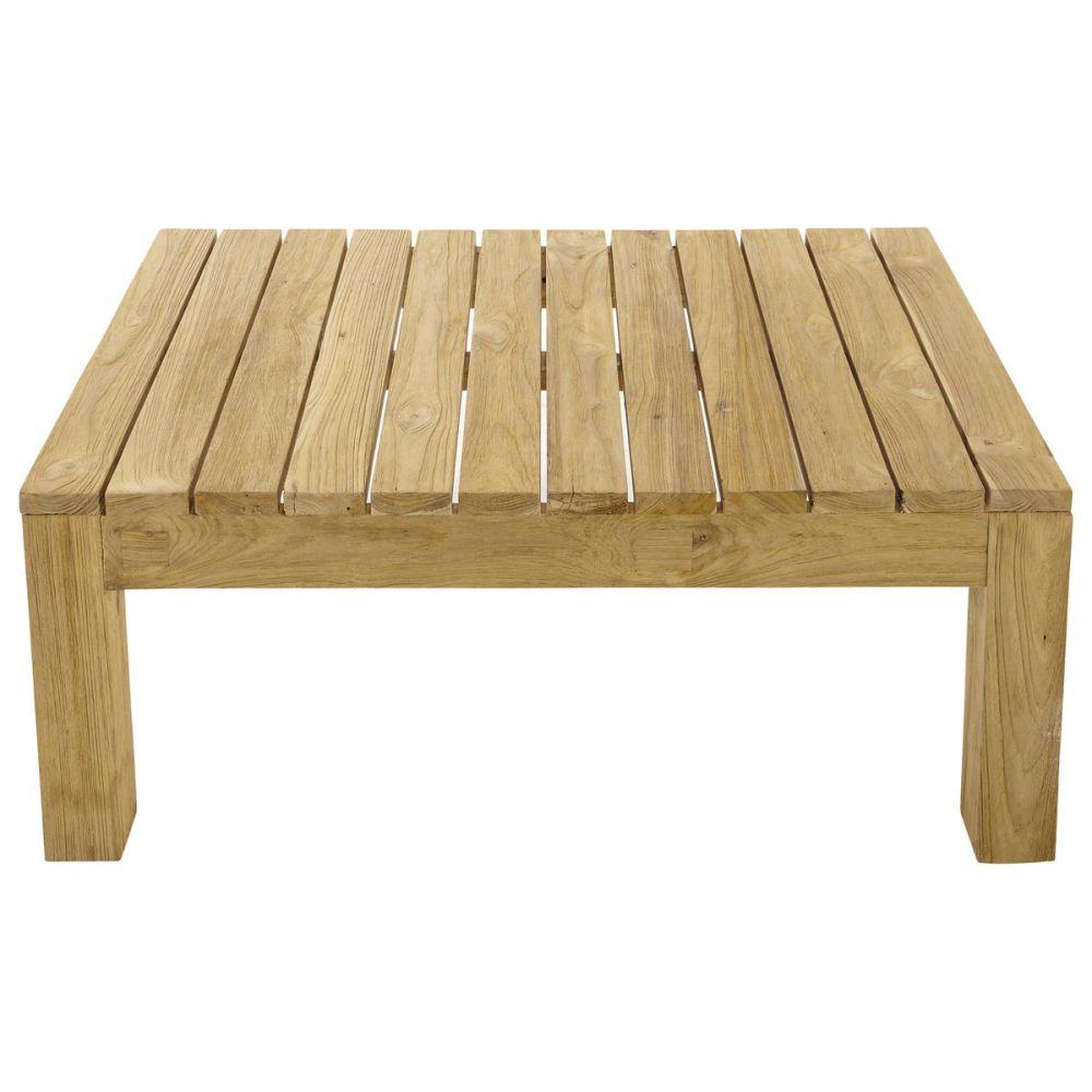 Table basse de jardin en teck l 102 cm cadaques maisons du monde - Table basse de jardin ...