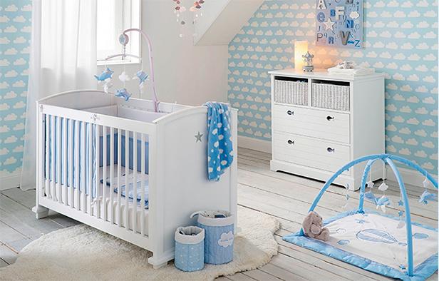 Chambre b b lit et commode b b armoire b b maisons for Accessoires chambre bebe
