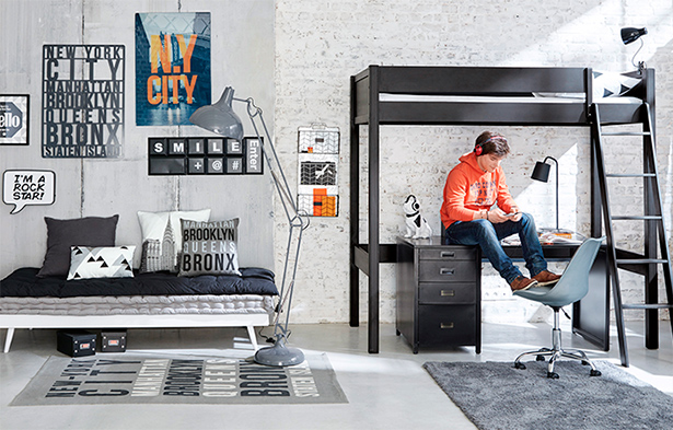 chambre enfant meubles d coration maisons du monde. Black Bedroom Furniture Sets. Home Design Ideas