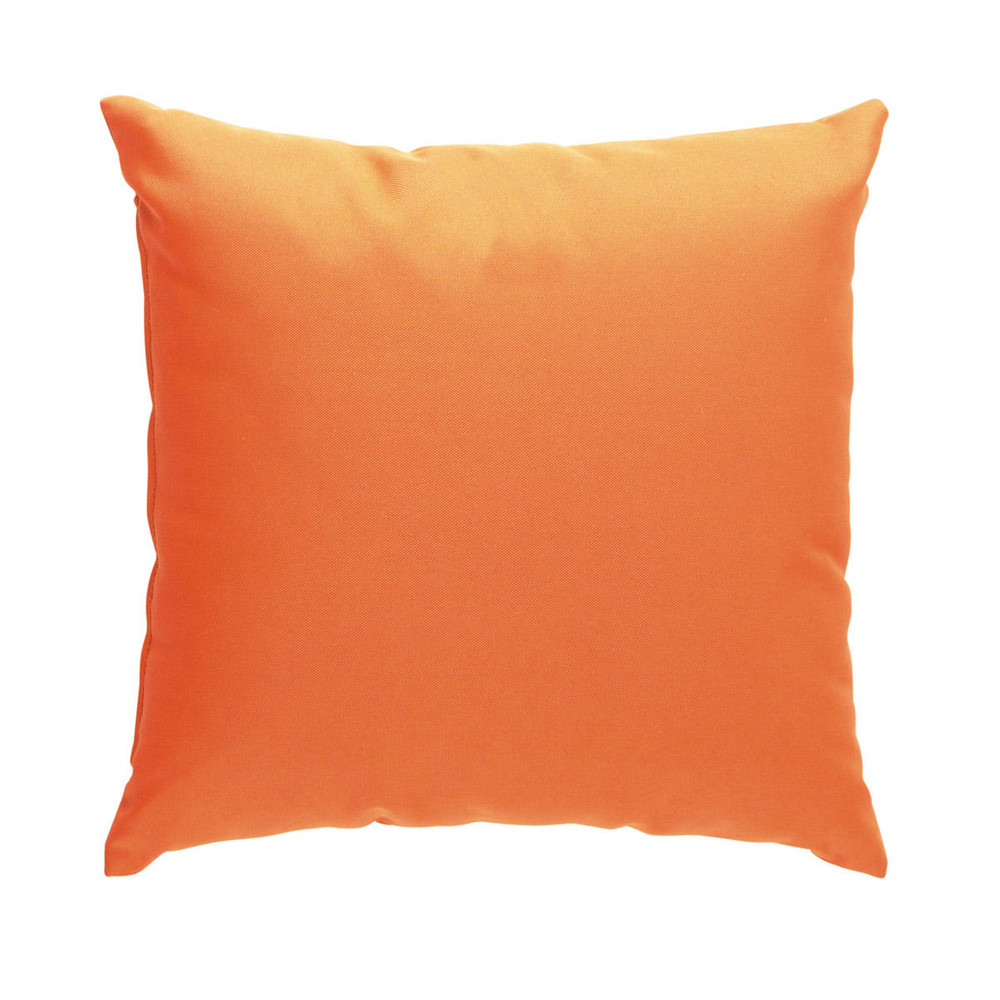 2 coussins orange 40 x 40 cm sunny maisons du monde. Black Bedroom Furniture Sets. Home Design Ideas